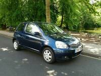 TOYOTA YARIS 1.0L T3 2004 MOT TILL 05/05/2018 WARRANTED MILES HPI CLEAR EXCELLENT CONDITION