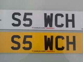 Cherished Registration No. S5 WCH