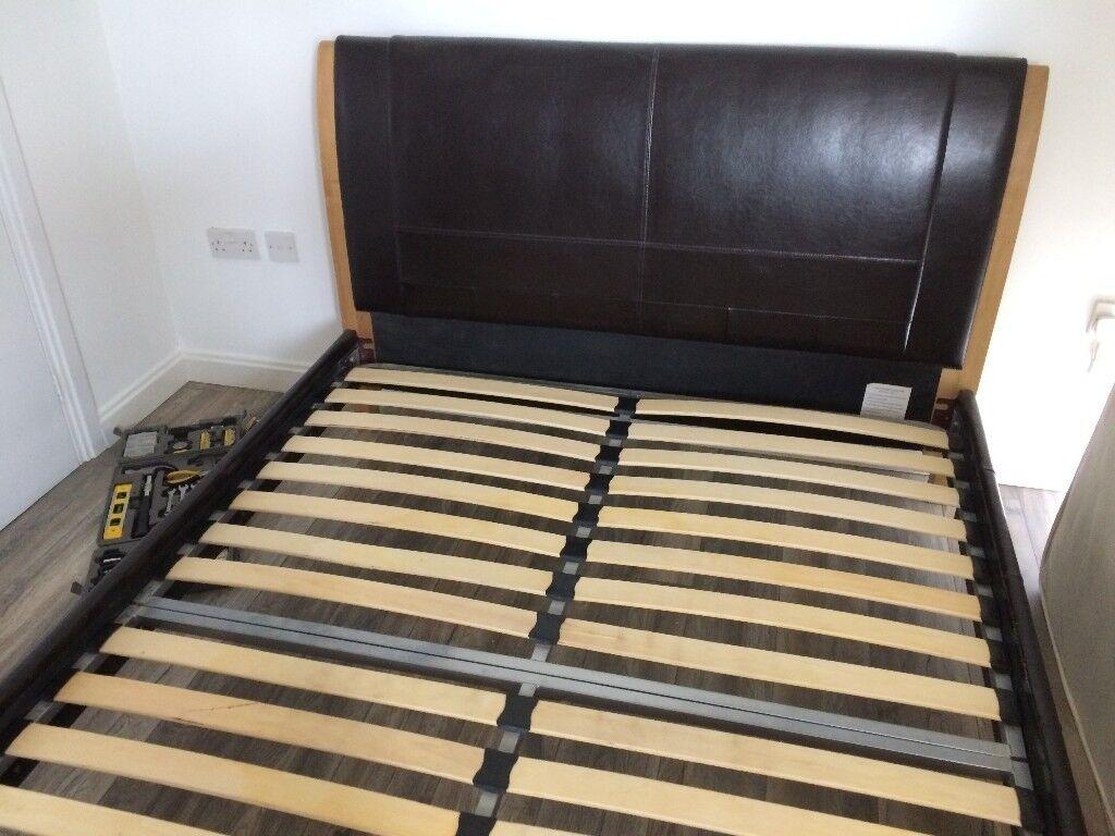 Bed 210 160.Kingsize Bedframe 160 X 210 In Cardiff Bay Cardiff Gumtree