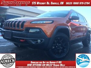 2014 Jeep Cherokee Trailhawk | 4X4 | HEATED LEATHER | NAVIGATION