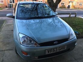 Ford Focus 1.6 Petrol 2004 CAT D
