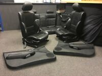 BMW 3 5 7 X Series Interiors - Seats Door Panels - Leather Sport Alcantara E34 E36 E46 M3