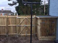 Joiner , fencing , decking , guttering , doors , flooring , sheds , dry verge , windows