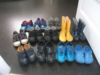 LARGE COLLECTION OF CLARKS AND NEXT SHOES