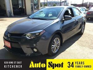 2014 Toyota Corolla LE/NAVIGATION/LEATHER/LOW, LOW KMS! Kitchener / Waterloo Kitchener Area image 1
