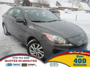 2013 Mazda MAZDA3 GS-SKY | BLUETOOTH | HEATED SEATS