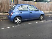 Nissan micra 2003 automatic 5 doors low mileage ..