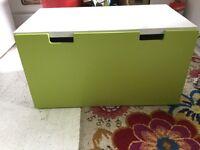 Storage bench and box ikea green stuva malad
