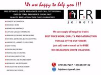 F&R Joiners,Builders and Handyman