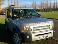 Land Rover Discovery 3 TDV6 2.7/FSH/belts done/7seats/full leather/sat nav/parking aids/