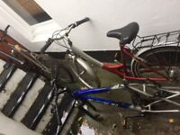 3 x FREE old Bike frames (spare parts)