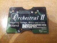 Roland Orchestral II SR-JV80-16 expansion board.