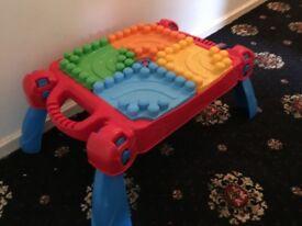 Megablocs toy table