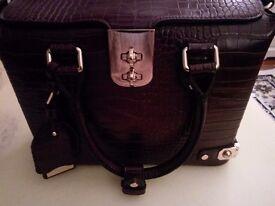 Dune Ladies Wine Coloured Handbag
