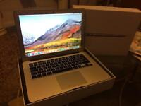 MacBook Air 13.3 inch display purchased December 2015 totally in mint condition fully boxed