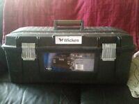 """WICKES 28"""" WATER RESISTANT TOOLBOX"""