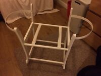 John Lewis rocking Moses basket/carry cot stand