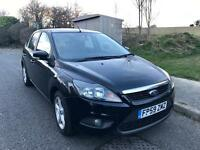2010 Ford Focus 1.8 Zetec , LOW MILES 55k , 1 Owner, YEARS MOT