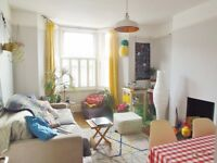 2 Double Bed Flat With Private Roof Terrace In Herne Hill, Part Furnished, Available Early May