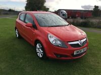 08 REG VAUXHALL CORSA 1.4i 16V SXi 5DR-12 MONTHS MOT-HISTORY-GREAT LOOKING BRIGHT CORSA-DRIVES WELL
