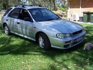 1997 Subaru Impreza Hatchback CHEAP MANUAL CAR APRIL REGO 2017 Seaham Port Stephens Area Preview