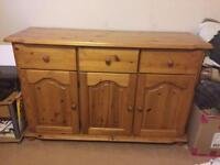 Aged pine sideboard! £35 collect!