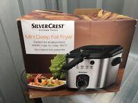 Silvercrest Mini Deepfat Fryer Unused
