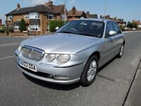 Rover 75 1.8 T Club SE 4dr 2003, Saloon , last owner from 2008 genuine low mileage, two remote keys
