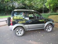 2008 SUZUKI JIMNY JLX PLUS BLACK - 4X4 CAR - GREAT FUN! 1.3L 12 MONTHS MOT