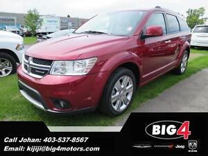 2011 Dodge Journey R/T, AWD, Leather, 7 seater