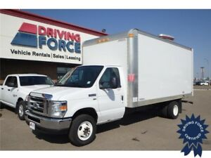"2016 Ford E-450 Super Duty 176"" DRW (16' Van Body), 5.4L V8 Gas"
