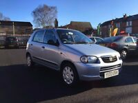 2003 SUZUKI ALTO 1.0 GL++ONLY 82000 MILES++FULL SERVICE HISTORY++12 MONTH M.O.T++1 OWNER CAR++