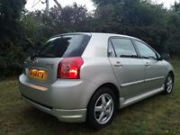 Toyota Corolla 1.6 T3 vvti Petrol,2004,119k,Manual,5 Door,12 Monts MOT,Hpi clear