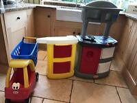 Little Tikes Kitchen & Shopping Trolley
