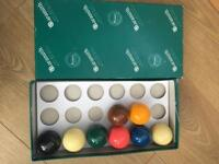 Aramith high quality snooker balls offers considered