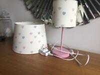 Next Lamp shade and Lamp
