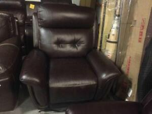Top Grain Leather power Recliner
