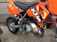 Ktm50 Kids dirt bike. Rev 'n' Go