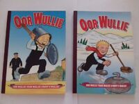 Oor Wullie Annuals 2003 & 2005 - Very Good & Good condition - BUYER TO COLLECT