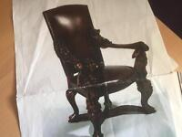 Venetian style chairs