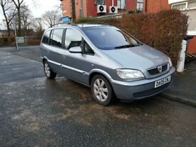 2005 vauxhall zafira breeze 2.0 dti diesle low mileage