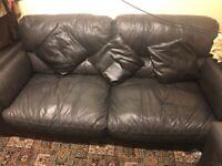 3 set leather sofa