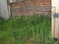 Gate Posts and Iron Gates
