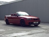 BMW 323I CONVERTIBLE FOR A QUICK SALE IN EXCELLENT CONDITION