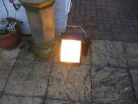 Large Yard Floodlight with light sensor £6