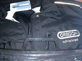 Chain saw jacket