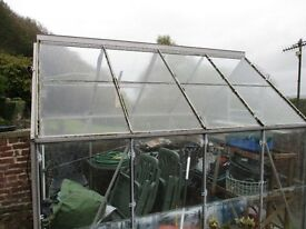 Eden Greenhouse aluminium frame 8'6' x 6.4'