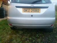Ford focus rear bumper in silver mint condition