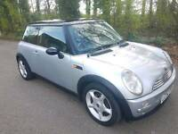 MINI cooper Automatic 1.6 Petrol 3dr 2003 Hatchback silver Warranted Mileage service history