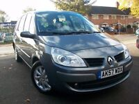 AUTOMATIC 7 SEATER RENAULT GRAND SCENIC 2.0 VVT-I DYNAMIQUE (2007) + FSH + M.O.T + LOW MILES